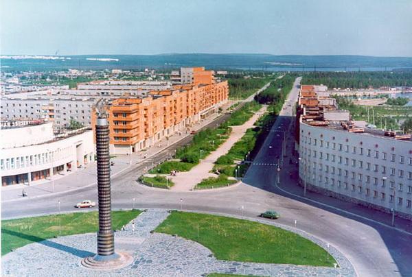 Оленегорск: модернизм за полярным кругом