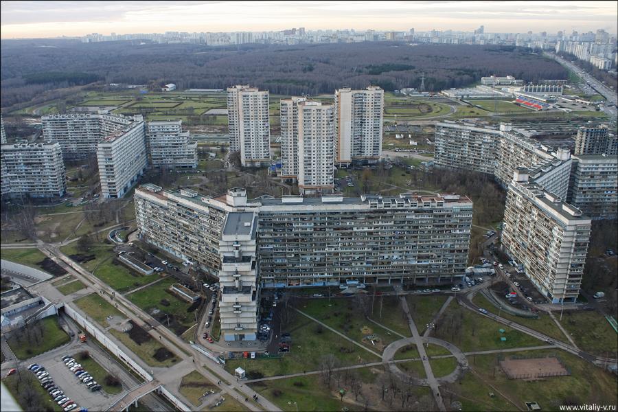 Экспериментальный жилой комплекс в Северном Чертаново