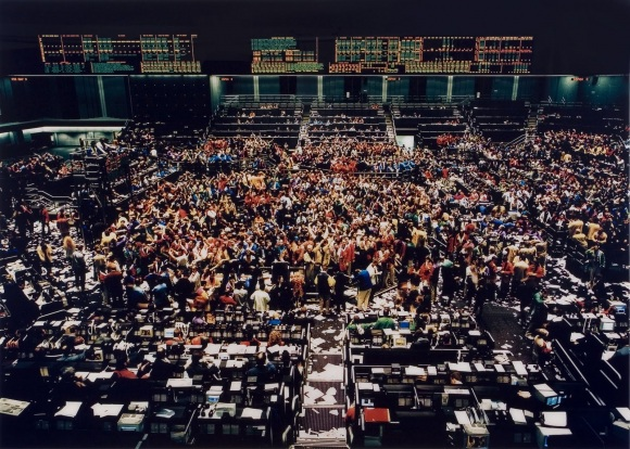 Андреас Гурский. Нью-йоркская фондовая биржа, 1991.