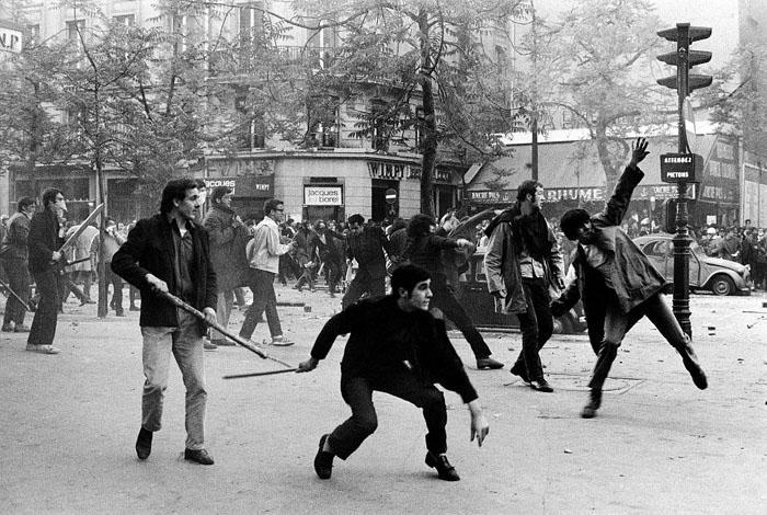1968 год в Париже.