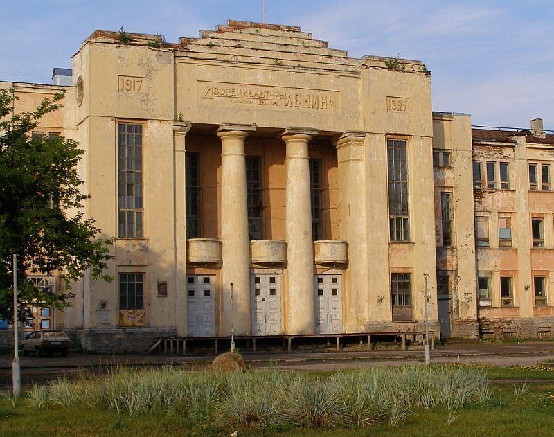 Неокласика 1920-х: заброшенный ДК Ленина в Нижнем Новгороде.