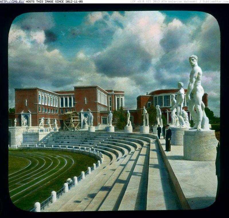 Итальянский форум, архитектура эпохи Муссолини в Риме.