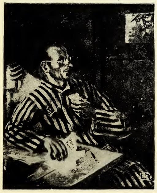 Карл Вейдеман. В одиночке Рижской централки, 1933