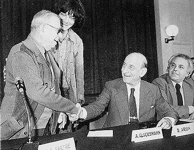 По две стороны культурного фронта: Жан-Поль Сартр и Раймон Арон