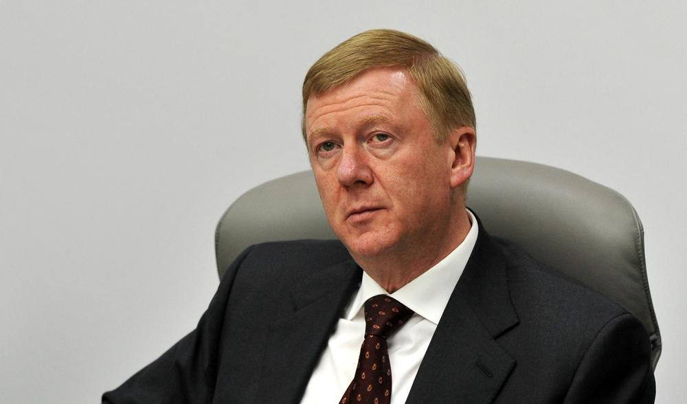 Анатолий Чубайс, либеральный империалист.