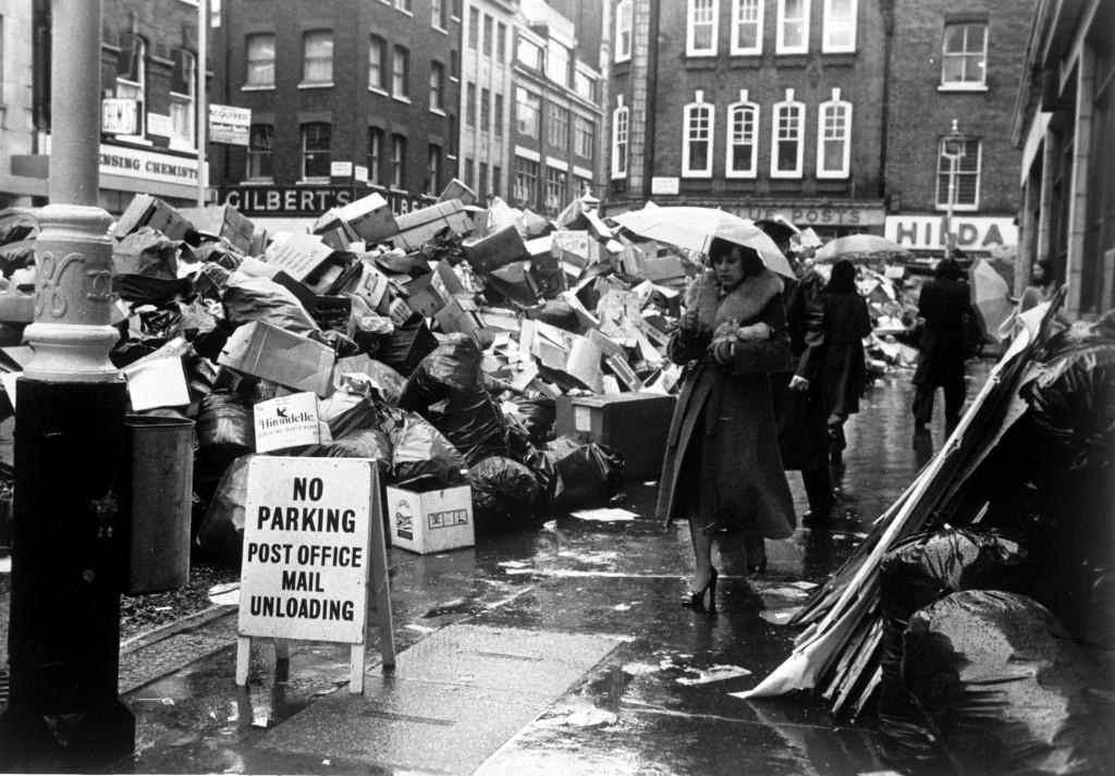 Забастовка уборщиков мусора, 1979.