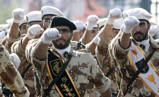 Иранские войска в Сирии.