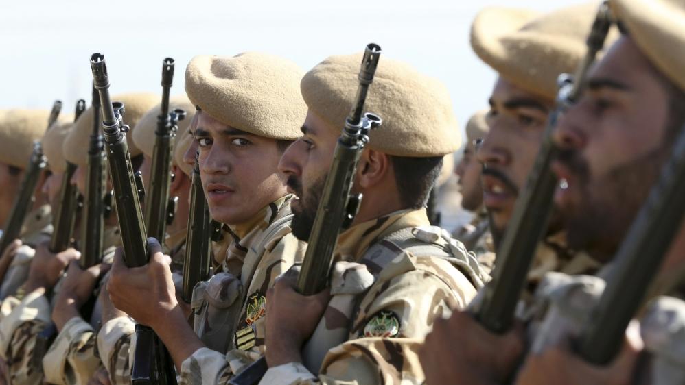 Иранские солдаты в Сирии. Аль-Джазира.