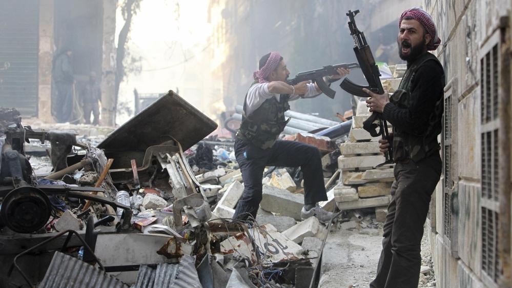 Бои за Алеппо